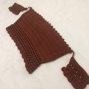 Windsor crochet crop top